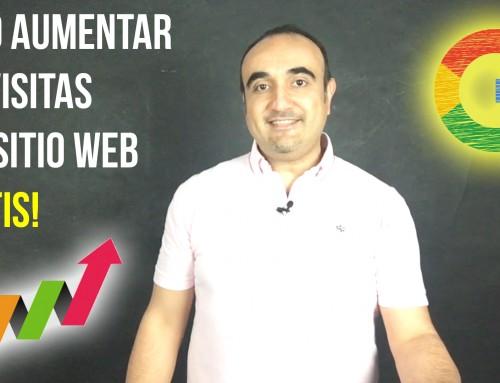 ¿Cómo aumentar las visitas a tu sitio web gratis?