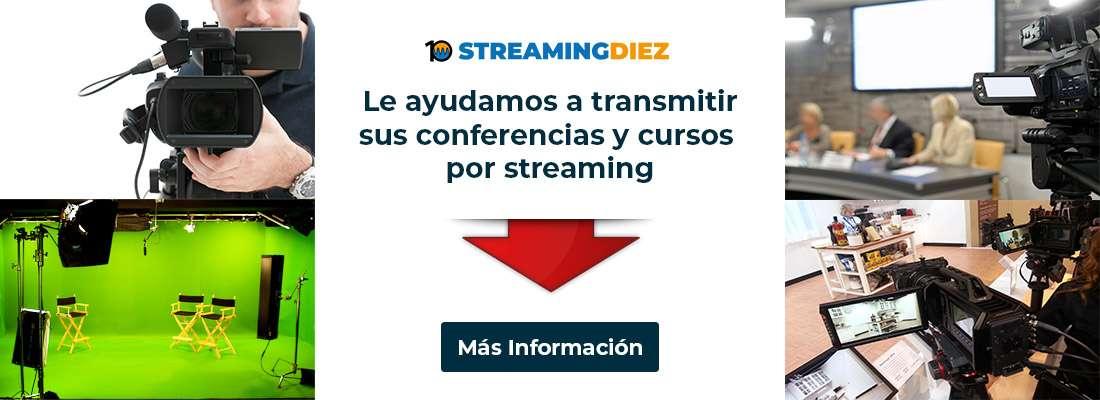 Transmisión de Conferencias y Cursos por Streaming